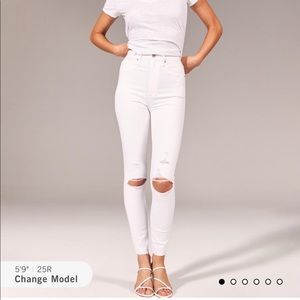 A+F Ultra High Rise Super Skinny Ankle Jeans ✨NWT